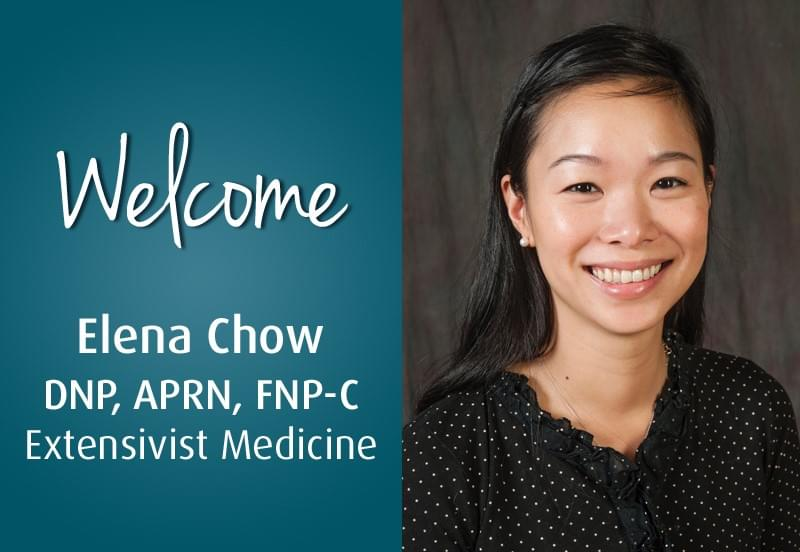 Elena Chow, DNP, APRN, FNP-C - Extensivist Medicine - Medical Home