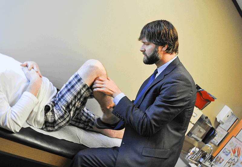 Dr. Jeffrey Padalecki, Sports Injuries