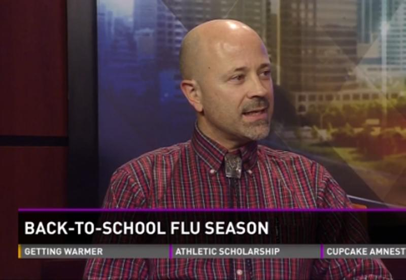 Family Medicine Dr. Marc Zook on KVUE - Back-To-School & Flu