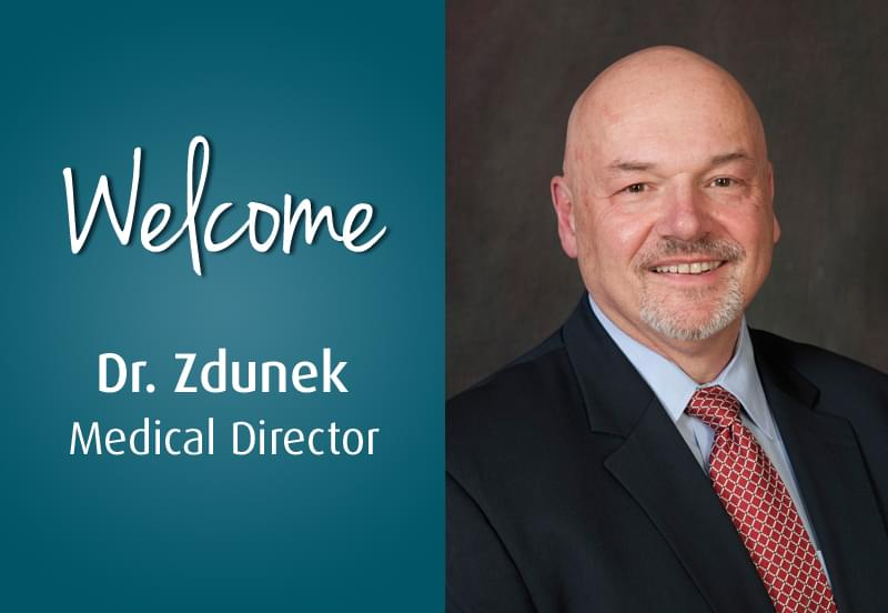 Medical Director Jay Zdunek
