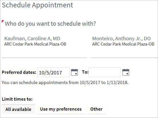 The Clinic Has Anthony Scheduled In For An Exam