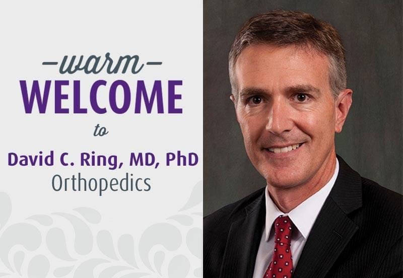 Dr. David Ring - Orthopedics