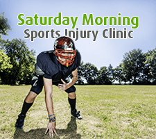 Saturday Morning Sports Injury Clinic