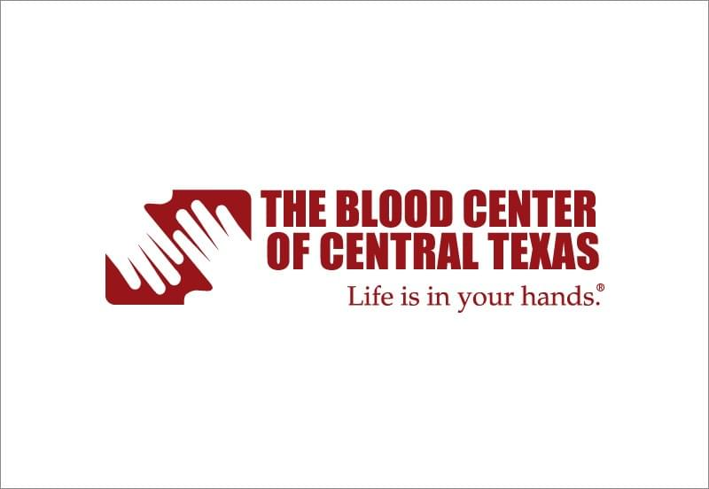 The blood center of central tx logo