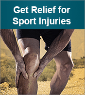 Get Relief for Sports Injuries