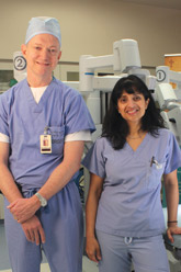 Dr. Guy V. Blumhagen and Dr. Renu Chalasani, Obstetrics/Gynecology at ARC Seton Northwest.